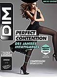 Dim Collant Perfect Contention Opaque 80D, Femme, Noir (Noir 0hz), X-Large (Taille fabricant : 4)