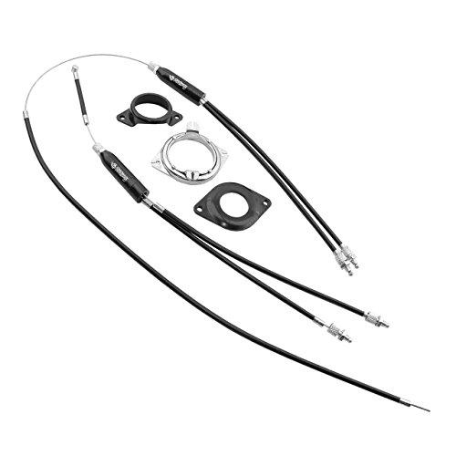 FISHBONE - 12014 : Juego completo rotor fishbone BMX 25,5mm bici bicicleta
