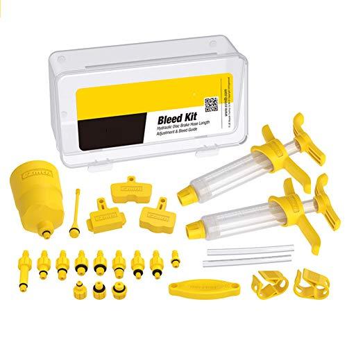 Eachbid Kit de purga de freno para bicicleta universal de disco hidráulico, herramientas de reparación para bicicleta MTB Bike sin líquido