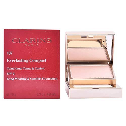 Clarins Everlasting Compact Teint Haute Tenue&Confort Spf9#107-Beige 1 Unidad 1400 g