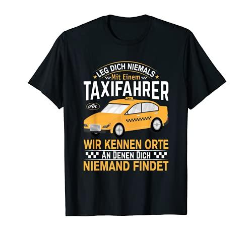 Hombre Disfraz de taxi Driver para taxista divertido Camiseta