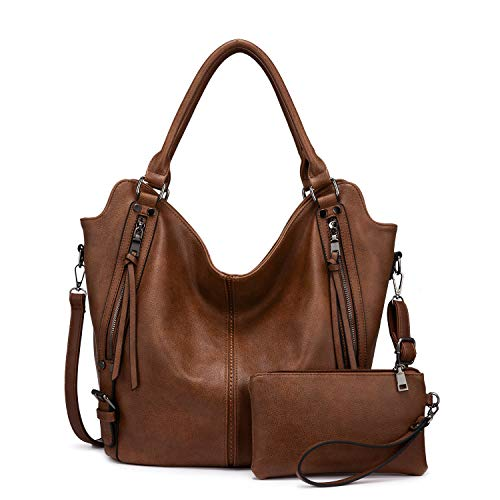 Women Hobo Bags PU Leather Shoulder Bags Large Purses and Handbags with Adjustable Shoulder Strap