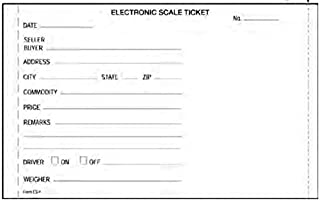 Rice Lake 20265 Electronic Truck Scale Tickets for SP2200, SP2000, RL250 & EL500