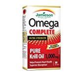Jamieson Omega Complete™ Pure Krill 1,000 mg, 30 softgels