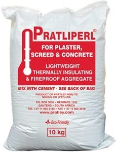 Max 55% OFF Pratley Pratliperl 10kg Plaster overseas Screeds Bag