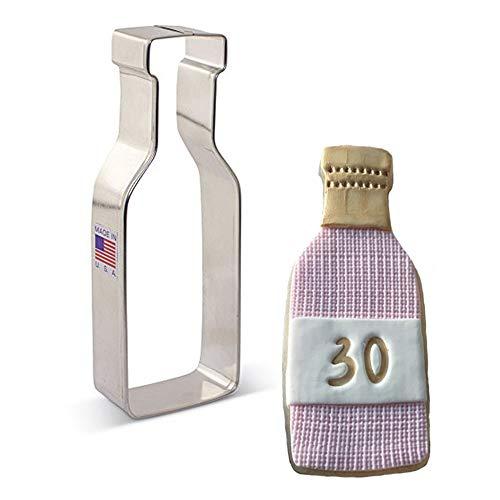 Ann Clark Cookie Cutters Cortador de galletas botella de vino - 12,7 cm
