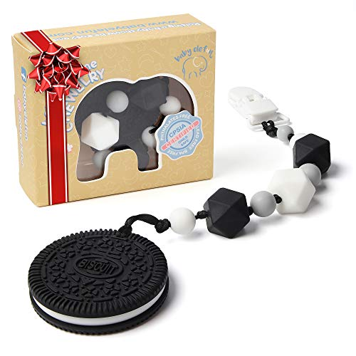 Product Image of the Teething Toys for Babies - BPA Free Silicone - Cute and Highly Effective Cookie...