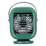 MERIGLARE Aire Acondicionado Portátil del USB del Ventilador del Refrigerador de Aire para La Oficina en Casa - Verde, Individual
