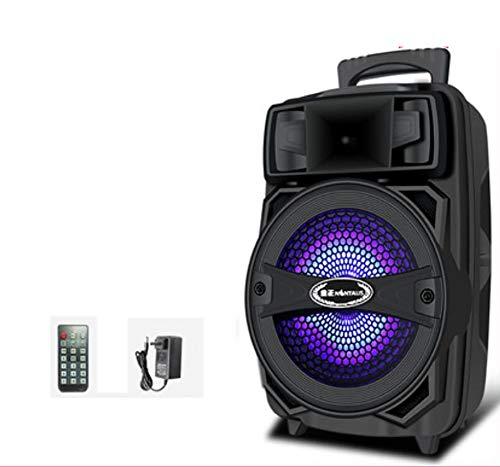 Unbekannt Party-Soundsystem (Partylautsprecher Karaoke, Bluetooth, Kompaktanlage, 440 Watt, Farbige LED, USB, AUX,Mikrofonanschluss),A