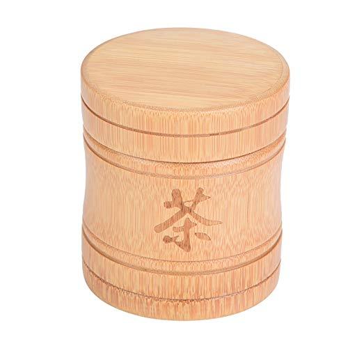 Caja de almacenamiento de té con tapa Tarro de té portátil de alta calidad para oficina para granos de café