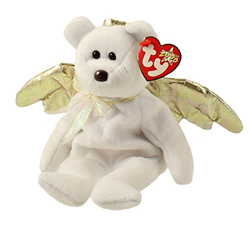 TY Beanie Baby - HALO 2 the Angel Bear (8.5 inch) - MWMTs Stuffed Animal Toy ^G#fbhre-h4 8rdsf-tg1382370