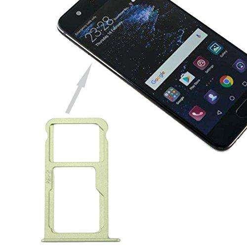 PANGTOU Zócalo de la tarjeta del teléfono celular para la bandeja de la tarjeta de Huawei P10 SIM y la bandeja de la tarjeta de SIM Micro SD Accesorios del teléfono celular