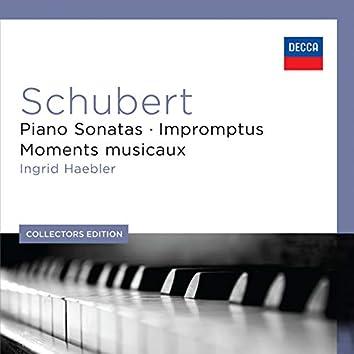 シューベルト:ピアノ・ソナタ集