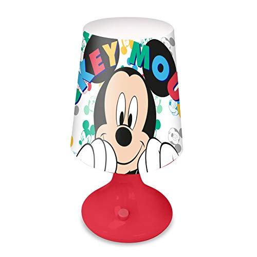 Mini Lampe de Chevet LED Mickey Disney 18 cm