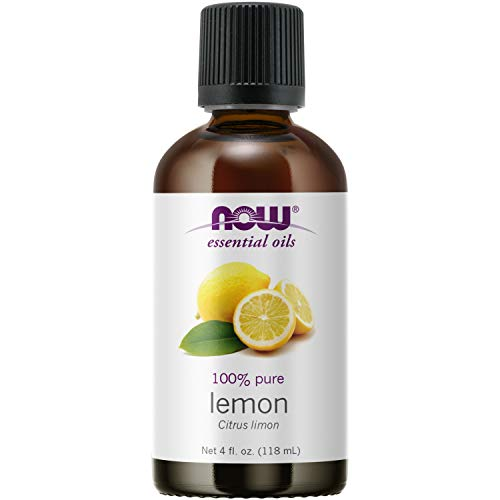 NOW Essential Oils, Lemon Oil, Cheerful Aromatherapy Scent, Cold...