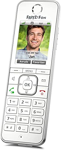 FRITZ!Fon C6 DECT-Komforttelefon weiß, deutschsprachige Version Premium Qualität