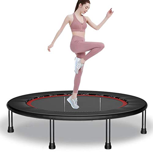 TXTC Portable Mini Trampoline For Kids, Trampoline With Trampoline Bag,Indoor Fitness Trampoline For Adults,for Indoor Exercise Workout Max 440lbs (Color : B-40inch)