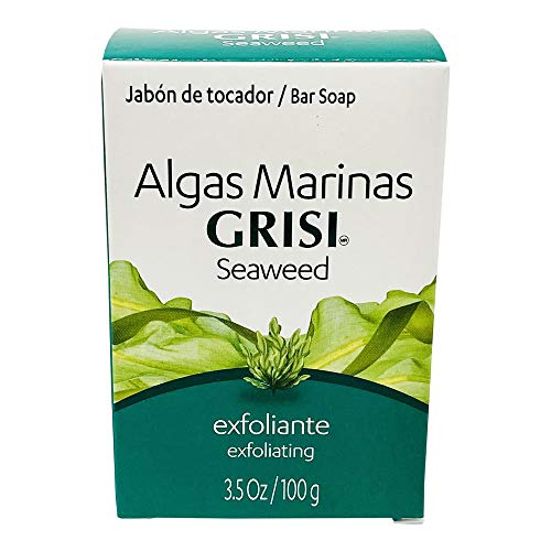 Grisi Grisi Seaweed Algas Marina Bar Soap 3.5 Oz, 3.5 Ounce