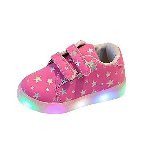 LED Flash Zapatos de Bebe, K-youth® Zapatos Deportivos Otoñales Luces LED Zapatillas...