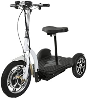 Electric Three Wheel SCOOTER. Battery Powered Euro Style Scooter. USA Designed. Mobility Device and FUN Ride for ALL AGES. By Euro Ride.