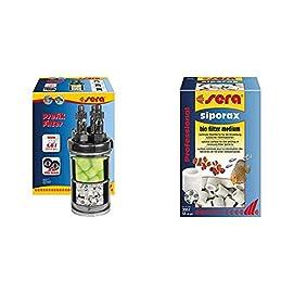 sera PrefiX Filter Vorfilter, Biofilter und Schnellfilter zum Anschluss an eine Pumpe bzw. Außenfilter