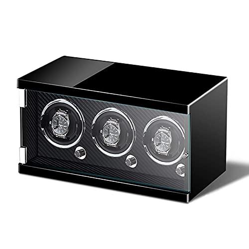 NuanXing Enrolladores de Relojes Reloj Inteligente Agitador Reloj mecánico Dispositivo de Cuerda automática Luz del hogar Atmósfera Colorida de Lujo Li (Caja de presentación de Reloj)
