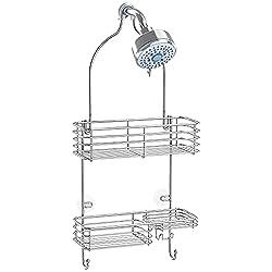 Details about  /Bathroom Accessories Shelf Bathroom Organizer Storage Rack Shower Wall Shelf SUS