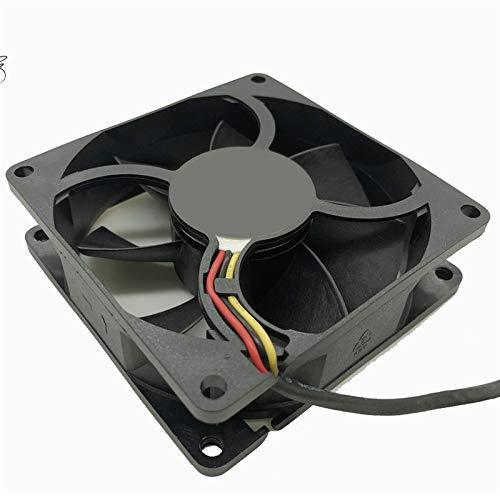 JPVGIA 8025 80 mm X 80 mm X 25 mm AD0812VB-A72GP 12V 0.65A Vientos del chasis del Servidor Solar Inverter Caja de la computadora PC Ventiladores de refrigeración
