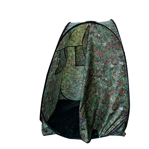 SZQ-Play Tents Camouflage Tent, Outdoor Baby Sleeping Room Locker Room Children Camping Folding Tent For 1-2 Children 2 Sizes Kids Teepee ( Color : B , Size : 100*100*150CM )