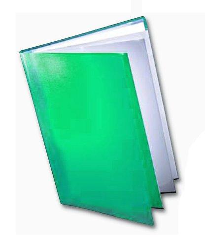 Dekko - Raccoglitore ad anelli formato A2, colore: verde
