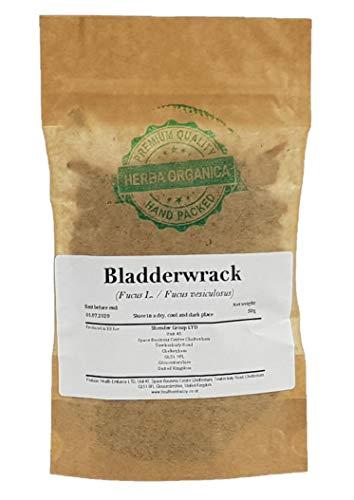 Fucus / Fucus Vesiculosus L / Bladderwrack # Herba Organica # Blasentang, Meereseiche, See-Eiche (50g)