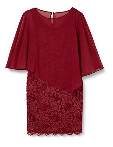 Vera Mont Vera Mont Damen 0095/4805 Kleid für besondere Anlässe, Ruby Red, 48