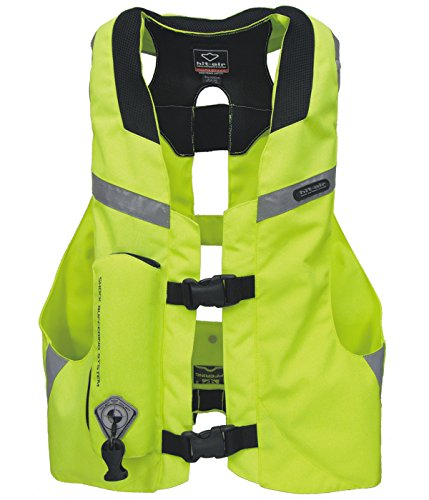 Hit Air MLV-YC Light Weight Airbag Vest High Visibility (S-XL)