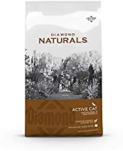 Diamond Naturals Active Cat Adult Dry Cat Food Chicken Protein Formula from Cage-Free Chicken with Superfoods, Probiotics, Antioxidants and Essential Nutrients 6lb
