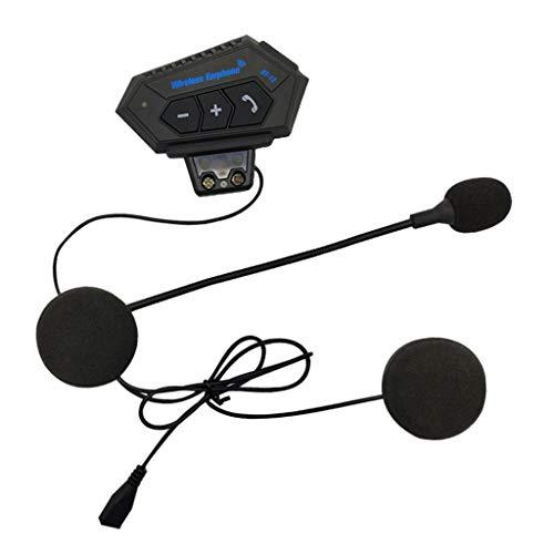 MERIGLARE Casco de Motocicleta Auricular/Intercomunicador Bluetooth Altavoz