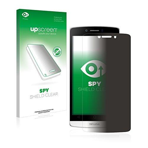 upscreen Anti-Spy Blickschutzfolie kompatibel mit TP-Link Neffos C5L Privacy Screen Sichtschutz Bildschirmschutz-Folie