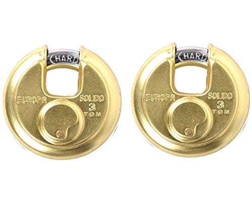 Shaks Traders Europa Stainless Steel Disc Pad Lock P-370 TW BI High Precision 11 Pin Dimple Key Technology