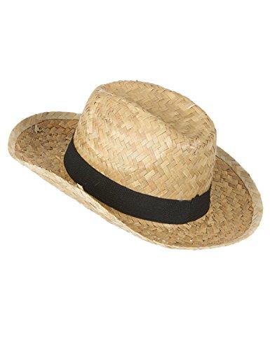 Generique - Chapeau Cowboy en Paille Enfant