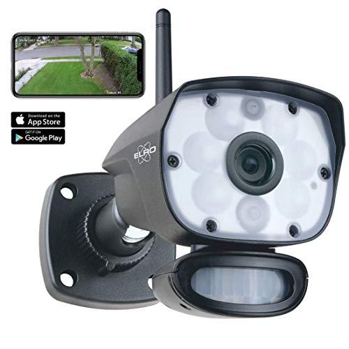 ELRO CC60RIPS Color Night Vision IP Kamera-WiFi Überwachungskamera-Farb Nachtsicht-HD Sicherheitskamera für Außen