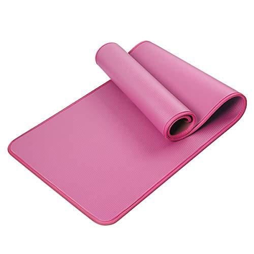 HBHS Tapis de Yoga, Suddefr Fitness Tapis, Antidérapant, avec Sac de Transport, Extra Épais, Imperméable Tapis de Sport pour Yoga, Gymnastique, Entraînement, Fitness, Pilates.