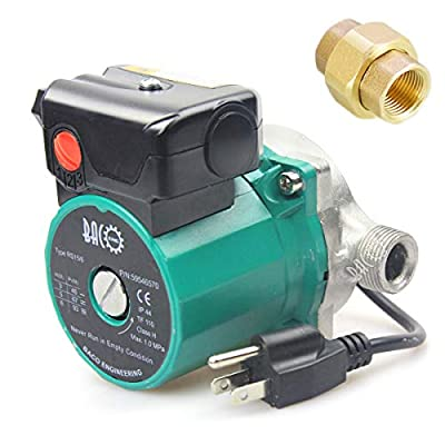 """BACOENG 3/4""""-2"""" 110V/115V BSP/NPT Hot Water Circulation Pump /Circulator Pump For Solar Heater System With US Plug"""