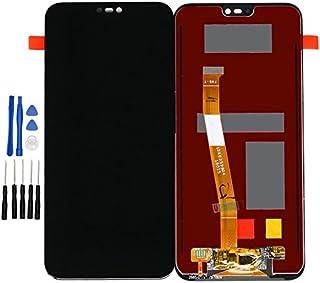 ixuan Huawei P20 Lite 修理用フロントパネル(フロントガラスデジタイザ)タッチパネル Lcd液晶パネルセット 修理工具付き ブラック