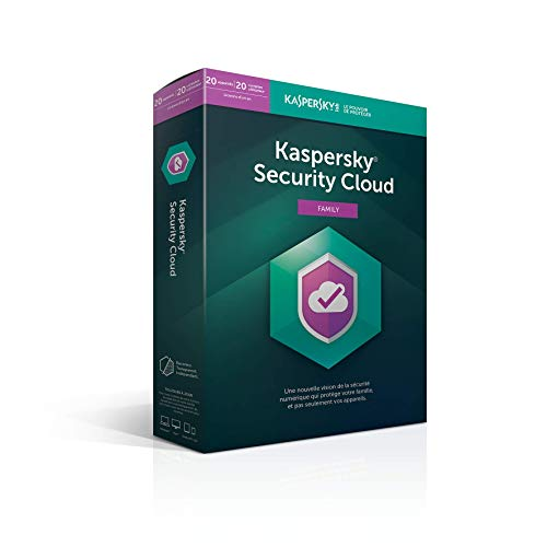 Kaspersky Security Cloud Family (20 Postes / 1 An)
