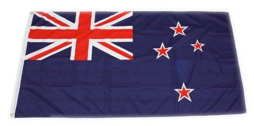 Original Handycop® Flagge Fahne Neuseeland New Zealand Landesflagge Nationalflagge Staatsflagge und Gösch 90 x 150 cm - wetterfeste Qualität