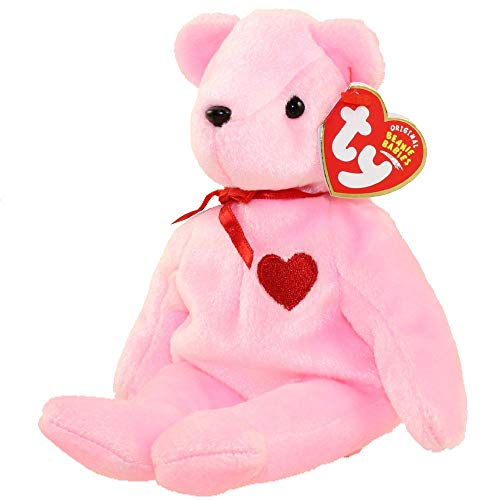 TY Beanie Baby - SMOOCH-e the Pink Valentine's Day Bear (Internet Exclusive)