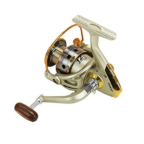HZPXSB Nuevo Carrete de Pesca de Spinning Bobina de Pesca Profesional Handshake 12 + 1 BB Metal Mano Izquierda/Derecha Pesca Reel Ruedas (Color : Fishing Reel, Spool Capacity : 3000 Series)