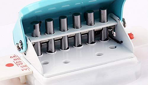Cucitrici Perforatrici O-type Hole Forniture per la scuola Taglierina per carta fai-da-te Foglia sciolta Scrapbooking Punchers Punzonatura per fori
