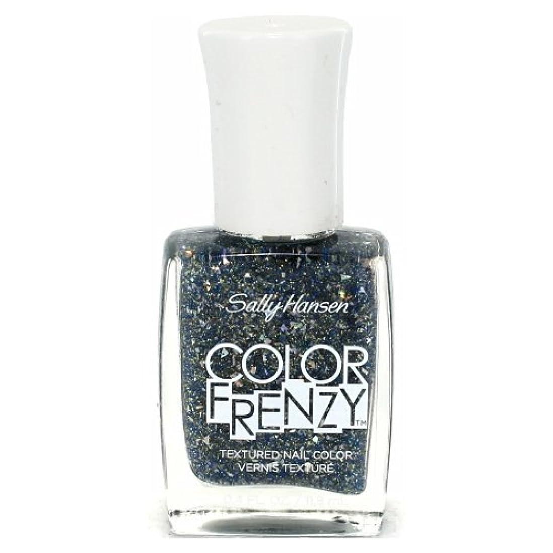 温帯望ましい骨折(6 Pack) SALLY HANSEN Color Frenzy Textured Nail Color - Sea Salt (並行輸入品)