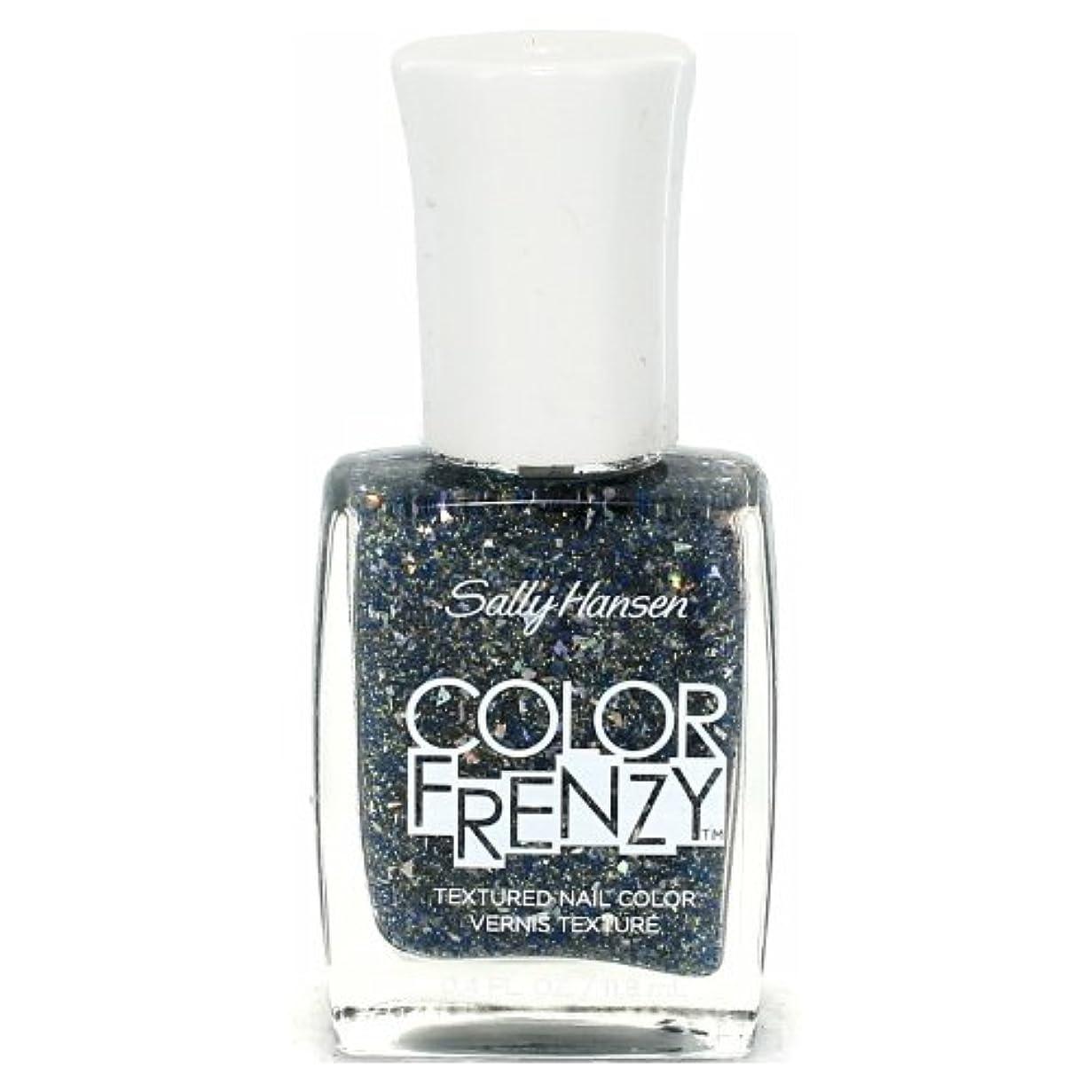 魅力的リア王個人的な(6 Pack) SALLY HANSEN Color Frenzy Textured Nail Color - Sea Salt (並行輸入品)