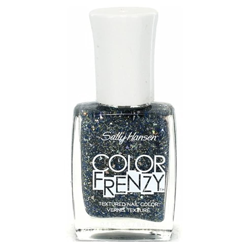 救い賢い深く(6 Pack) SALLY HANSEN Color Frenzy Textured Nail Color - Sea Salt (並行輸入品)